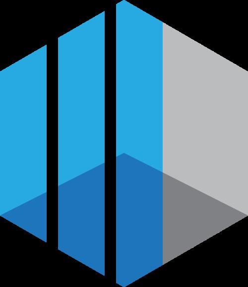 菱形抽象立体方形科技互联网logo图标素材