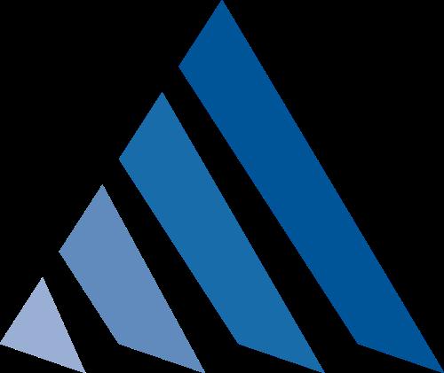 渐变三角形科技互联网矢量图标素材