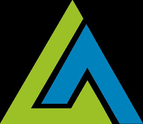 三角形山形生态农业矢量图标素材