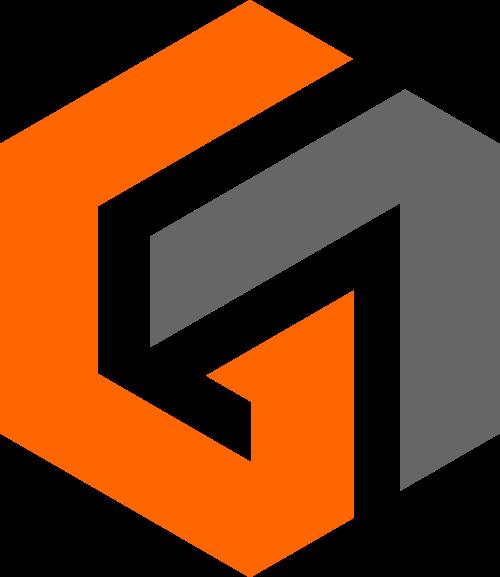 抽象多边体商务合作logo图标素材