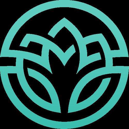 绿色环保植物农作物创意图标素材矢量logo