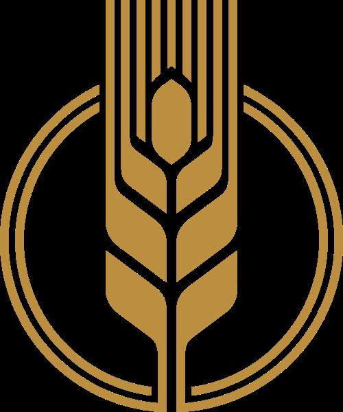 农业小麦餐饮矢量logo