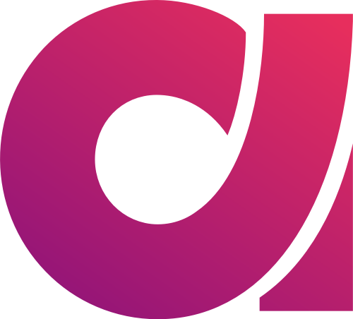 渐变粉色紫色字母a矢量logo图标素材