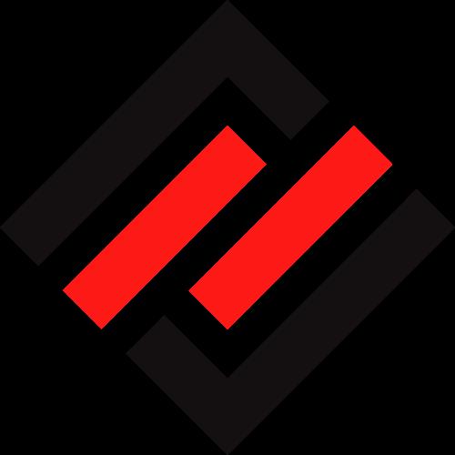 方形商务建筑物流矢量logo