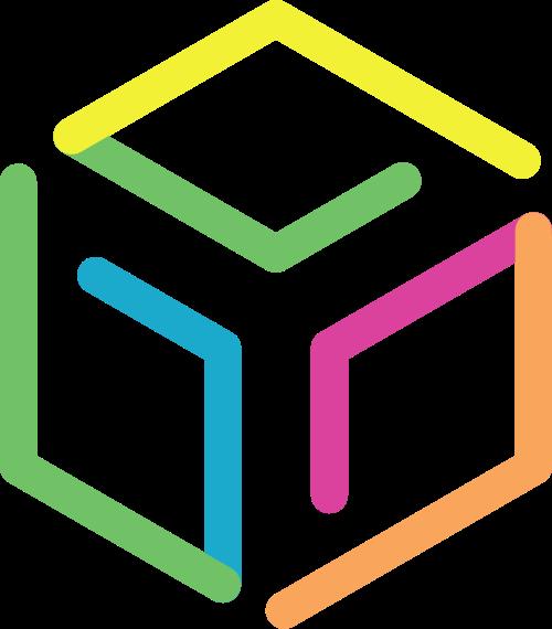 六边形物流运输传递矢量logo