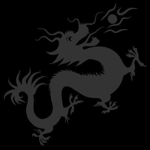 中国龙logo图标