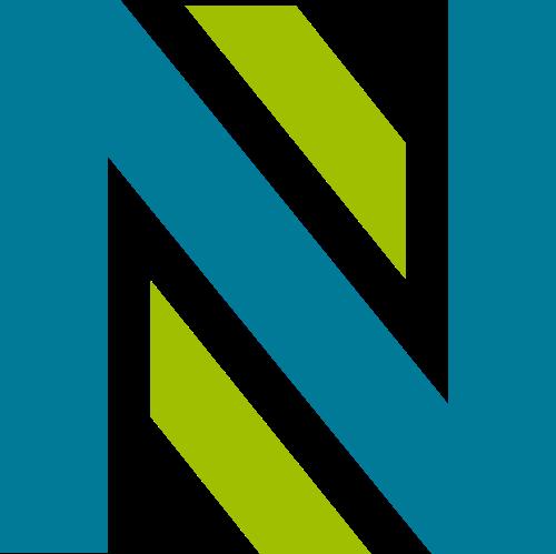 双色线条科技互联网商务矢量图标素材