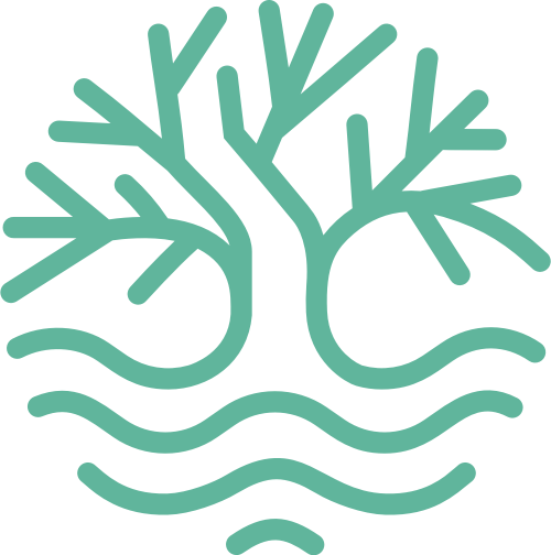绿色植物树木纯天然矢量logo图标素材