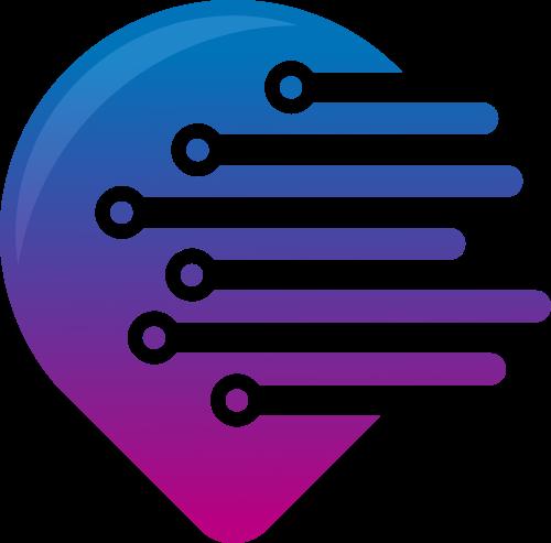 渐变创意艺术设计logo图标素材