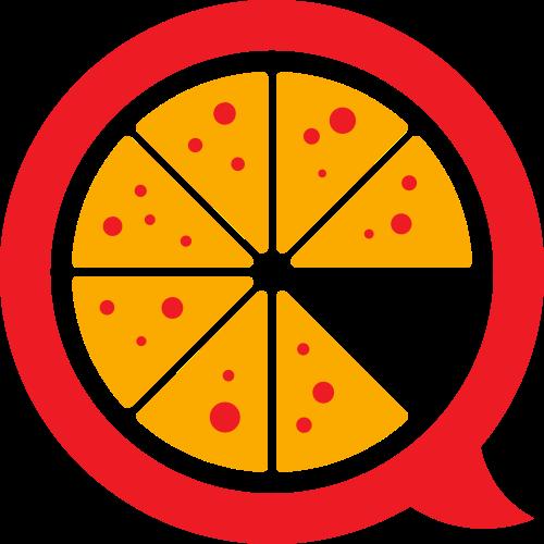 餐饮水果橙子对话矢量logo