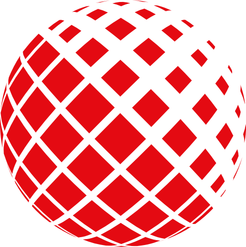 方形拼接立体地球互联网科技通信矢量图标素材
