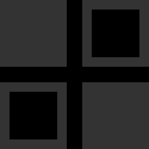 几何拼接方形窗户矢量图标素材矢量logo