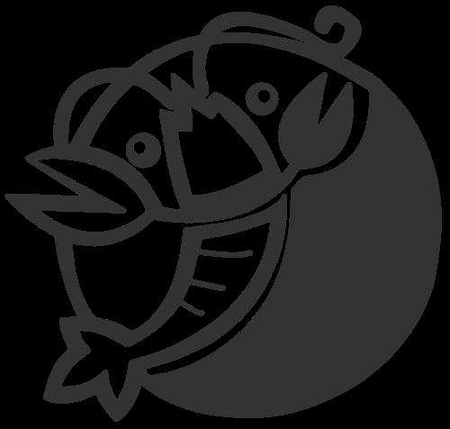 餐饮海鲜小龙虾矢量logo图案