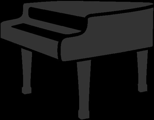 钢琴琴行logo