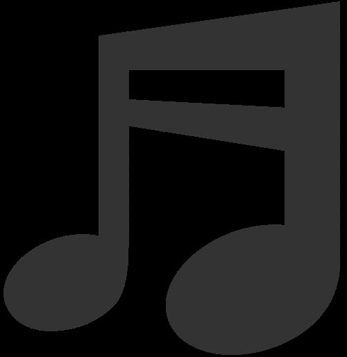 音乐音符logo素材图标