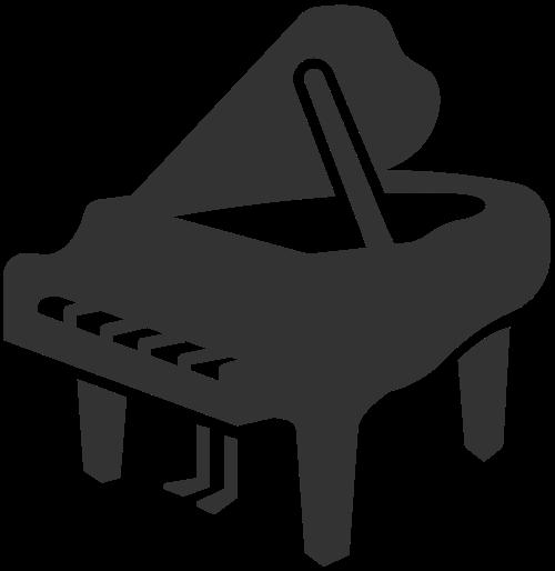 钢琴logo图标