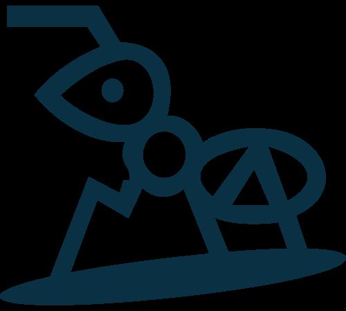 蚂蚁logo素材图标
