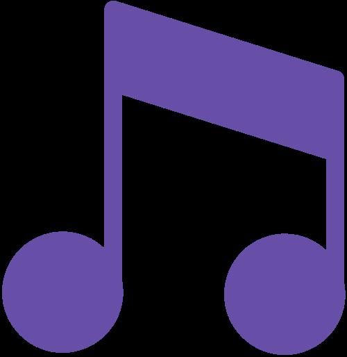 音乐音符logo图标