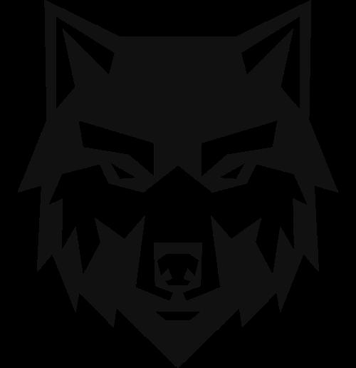狼头图标素材