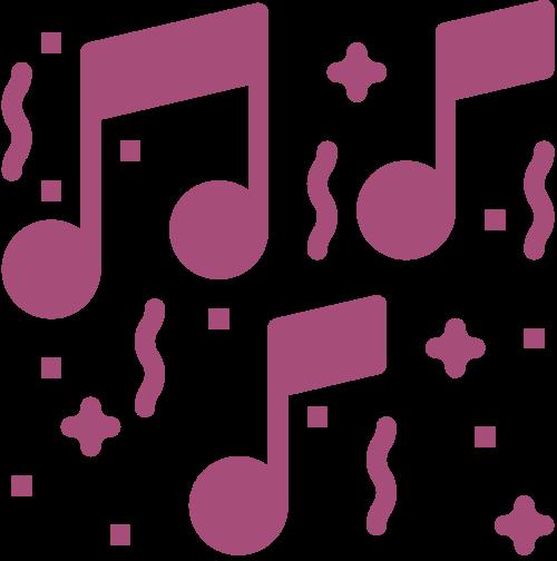欢乐音乐logo素材