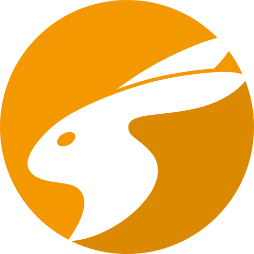 兔子logo素材图标