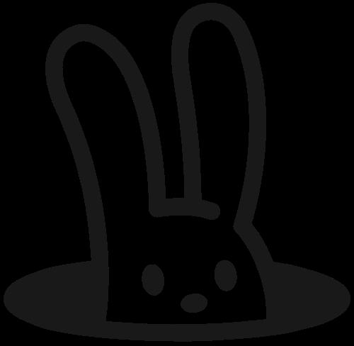 滑稽兔子logo