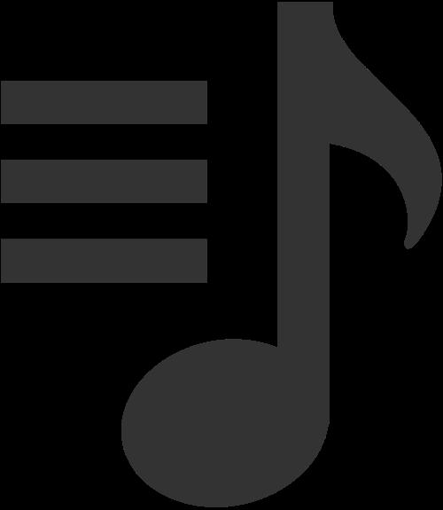 音乐符号logo素材