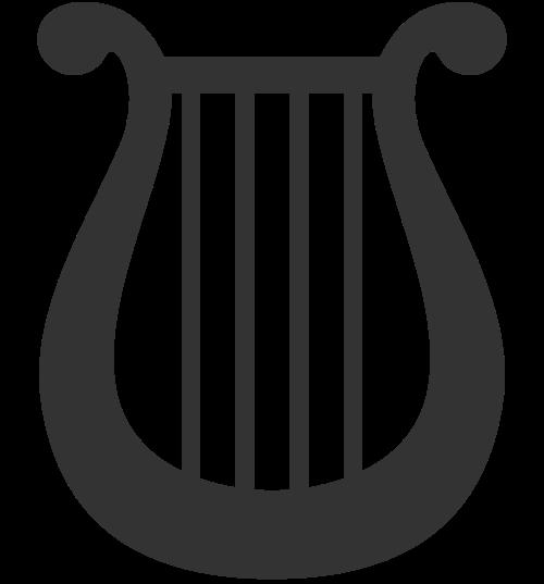 音乐琴行logo素材