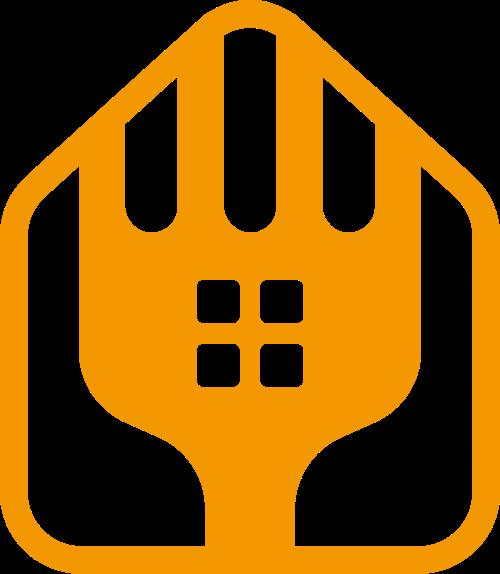 房屋装修建材家政logo图标素材