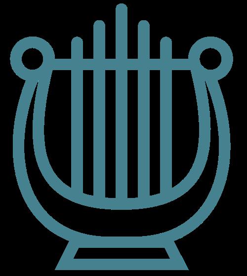 音乐琴声logo图片素材