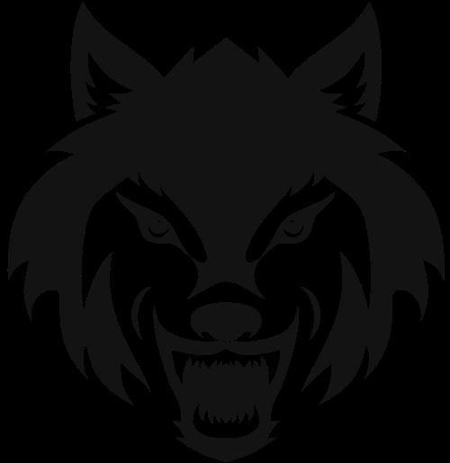 狼头logo图标