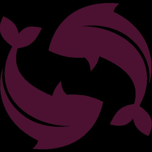 鱼渔logo图标素材