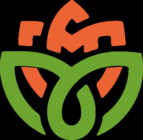 绿色花瓣logo素材