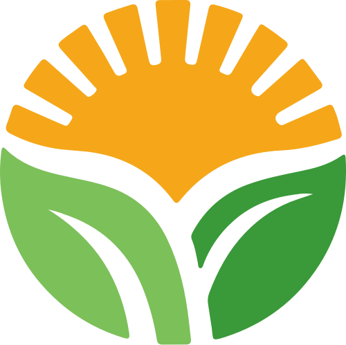 阳光农田logo矢量素材
