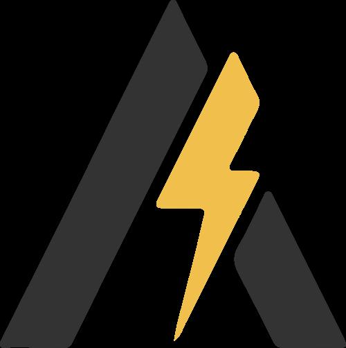 A字母闪电