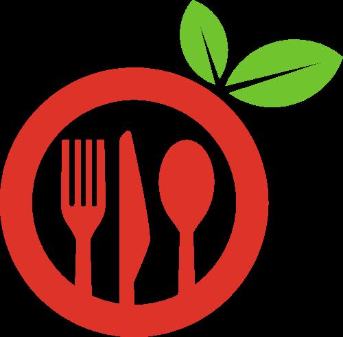 创意刀叉餐饮矢量logo矢量logo
