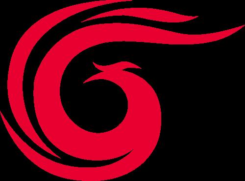 凤凰飞鸟矢量logo