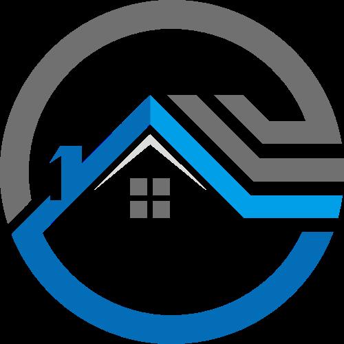 圆形房屋矢量logo