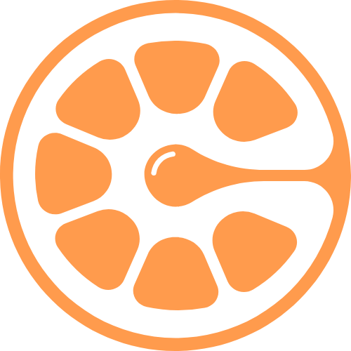 橙子水果矢量logo矢量logo