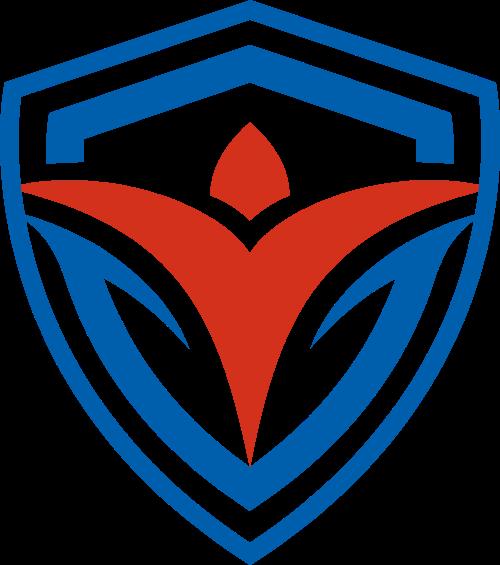 盾牌花卉矢量logo矢量logo