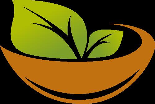 一碗茶创意矢量logo