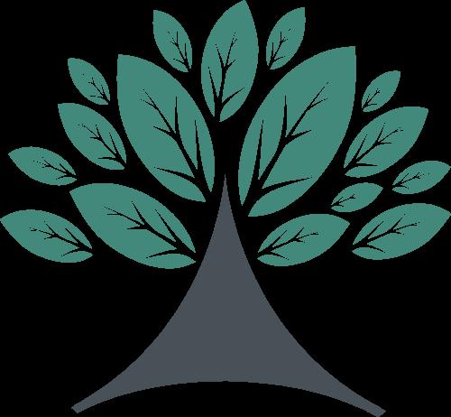 绿色大树图形矢量logo