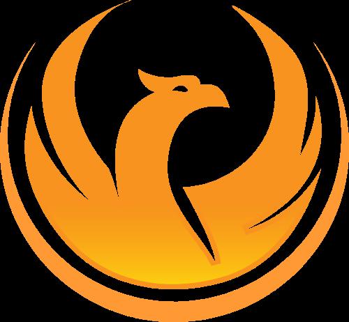 圆形雄鹰矢量logo