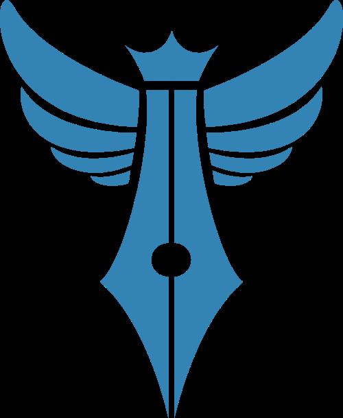 翅膀钢笔矢量图形