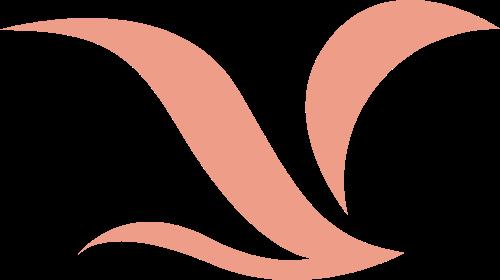 简约曲线海鸥飞鸟矢量图形