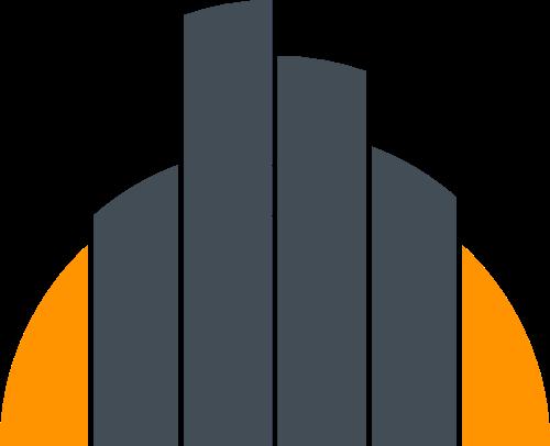简约建筑矢量图形