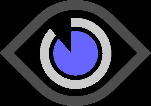 大眼睛矢量图形