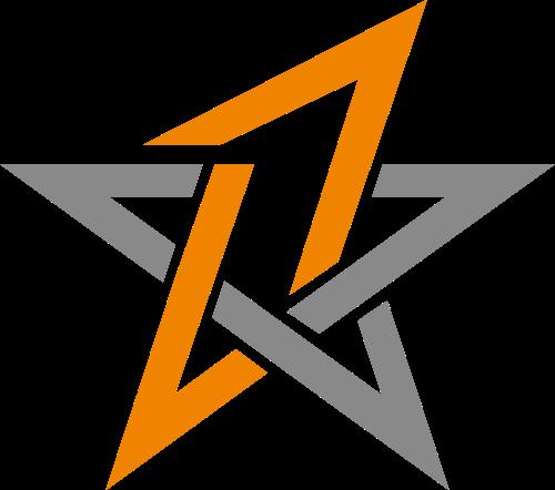 五角星矢量图形