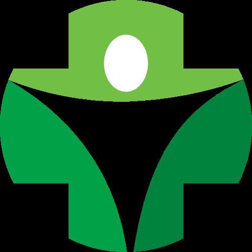 医院医疗健康绿色图形