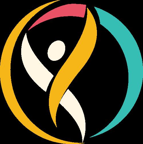 跳舞运动健身图形矢量logo